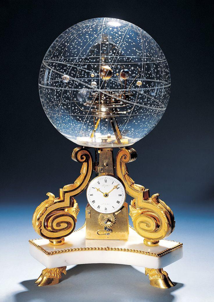 1770年代的桌上型時鐘在巴黎天文館