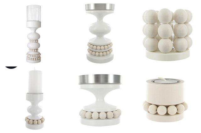 Aarikka kynttilänjalat (musta,valkoinen,kirkkaat värit).Käytettynä,edullisesti.