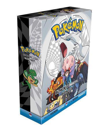 Another great find on #zulily! Pokémon Adventures: Black & White Manga Paperback Box Set 3 #zulilyfinds