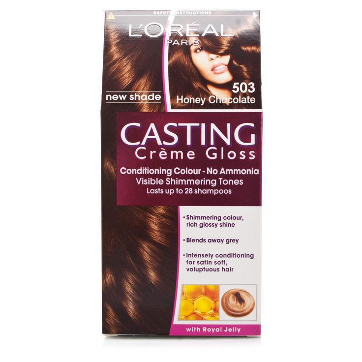 L Oreal Casting Creme Gloss Honey Chocolate 503 Golden