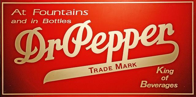 Dr. Pepper King of Beverages