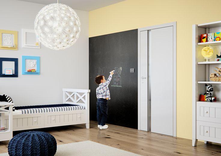 interiérové dveře Sapeli - HARMONIE barva bílá hladká