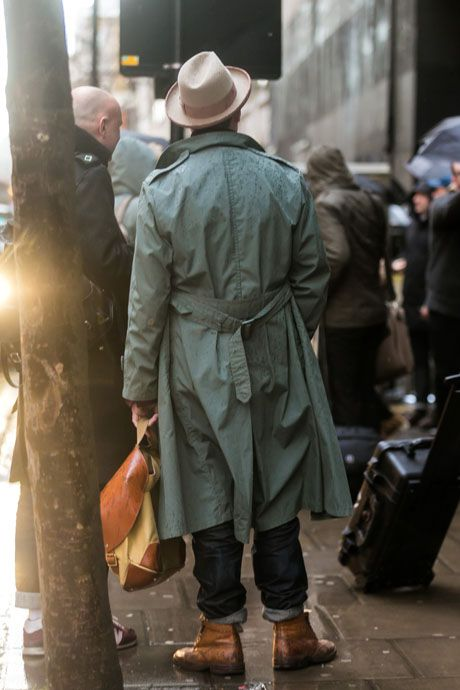 Rainy Day 2 Fall 2014 Fashion Week London Collections Men Details Street Style Pinterest
