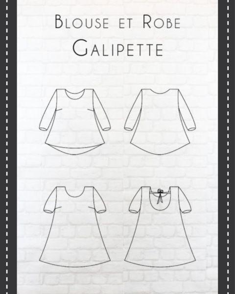 Aujourd'hui,je vous présente ma toute dernière réalisation, la blouse Galipette d''Eglantine et Zoé. Eglantine et Zoé est une jolie marque 100% française qui a vu le jour en Corrèze il…
