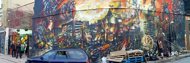 Holywell Lane, Shoreditch, London by Craig Grobler, via Flickr