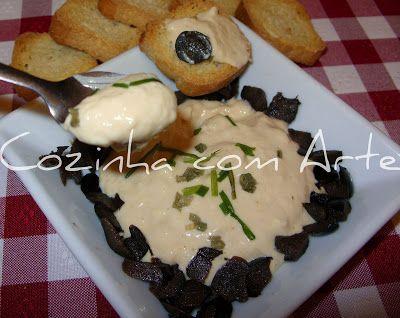 Cozinha com Arte: paté de queijo