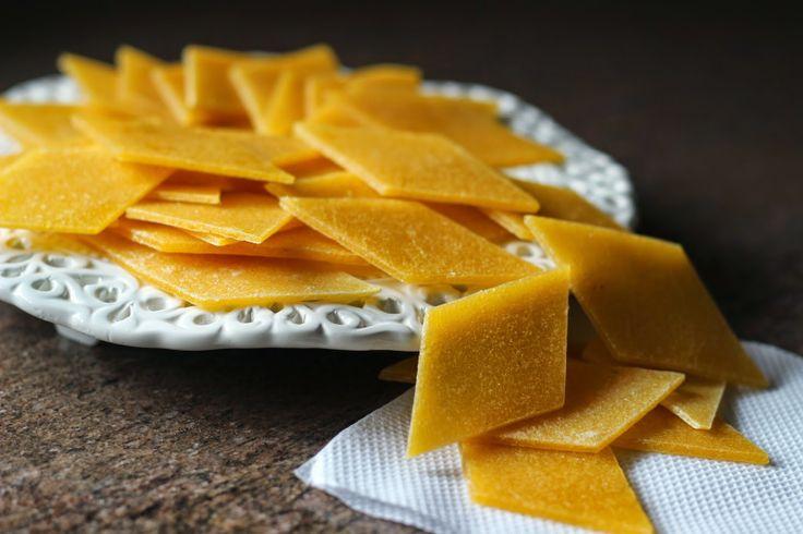 aam papad - mango leather