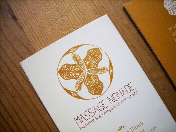 Logo Massage Nomade - MATAGADA