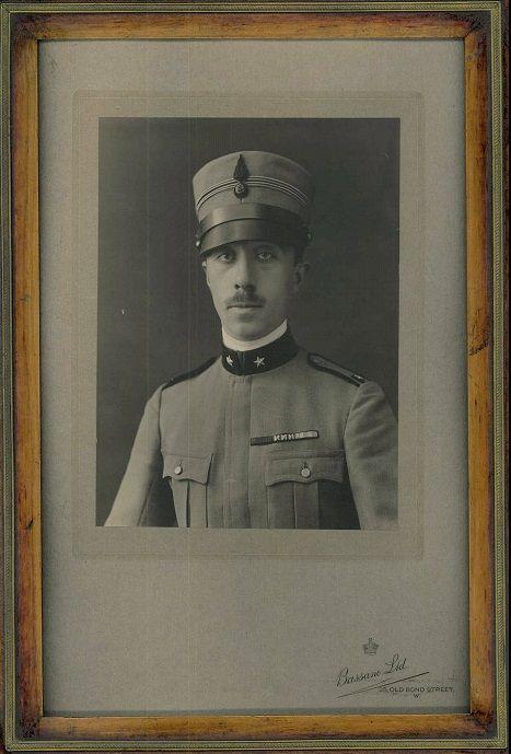 Principe Vitaliano X Borromeo Arese (1892-1982).