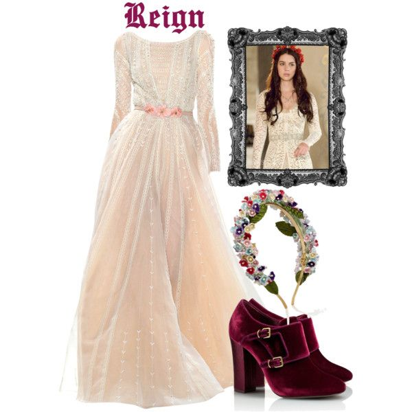 Get the look mary reign 3 by onceuponanovel on for Mary queen of scots replica jewelry