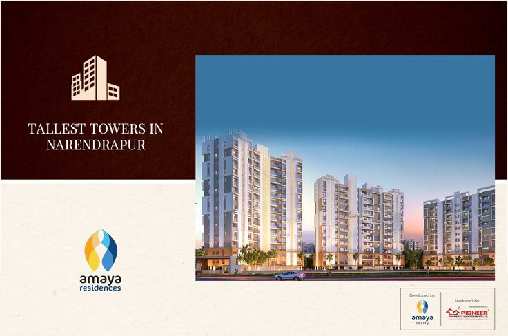 Amaya Residences - 2 & 3 BHK Homes, Narendrapur, Kolkata Tallest Towers In Narendrapur. http://bit.ly/2fHuc3n #Tips #Homes #Kolkata #homebuyers #realestate #residential