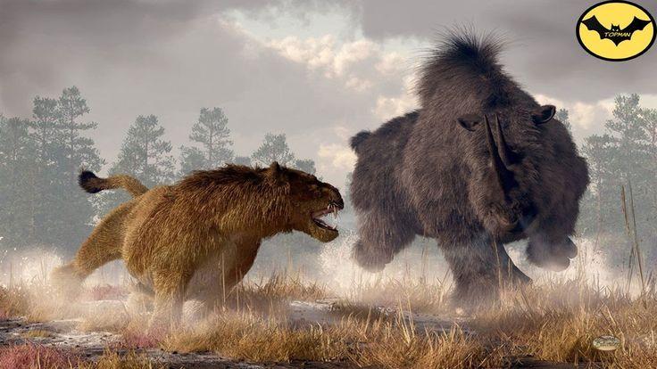 Top 5 animales mas peligrosos y letales de la era del hielo. - YouTube