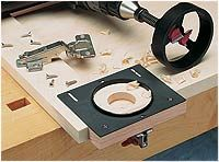 A European Hinge for Lipped Doors / Rockler How-to