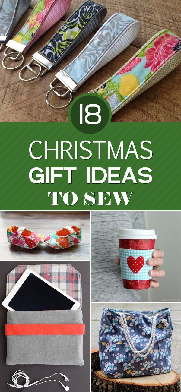 18 Christmas Gift Ideas To Sew