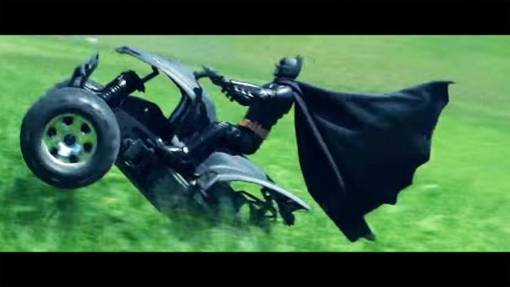HPI Savage Flux | Custom Batman ATV - Action Test Run