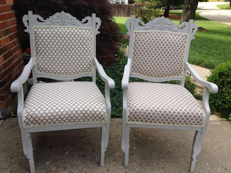 ANTIQUE  CHAIRS REVIVED… This Project Was More Than I Expected...