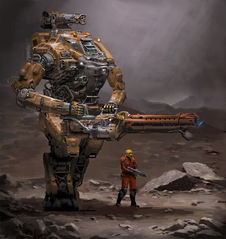 ArtStation - Heiringu Heavy mecha, Weiyi Qin