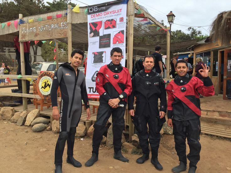 Demo Dry Suit D6 Oceano Dive Center
