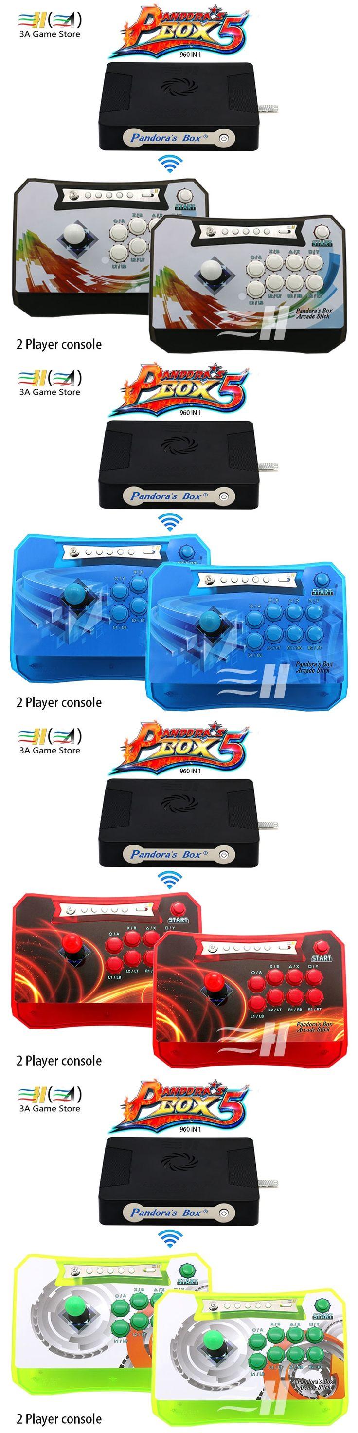 Pandora's Box Wireless Arcade Stick Combo Pandora Box 4S 680 in 1 Jamma Multi Game Board PS3 XBOX360 PC Arcade Controller Kit