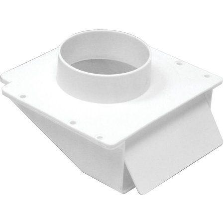 Lambro 143w 4 inch Plastic Under-Eave Vent, White