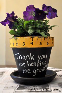 TEACHERS Gift Idea: Thank You for Helping Me Grow