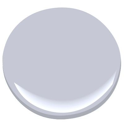 Benjamin Moore: Angel's wings 1423 A grayed violet, this soft, sweet shade is evocative of the winged cherubs so often captured in Baroque ceiling frescoes.