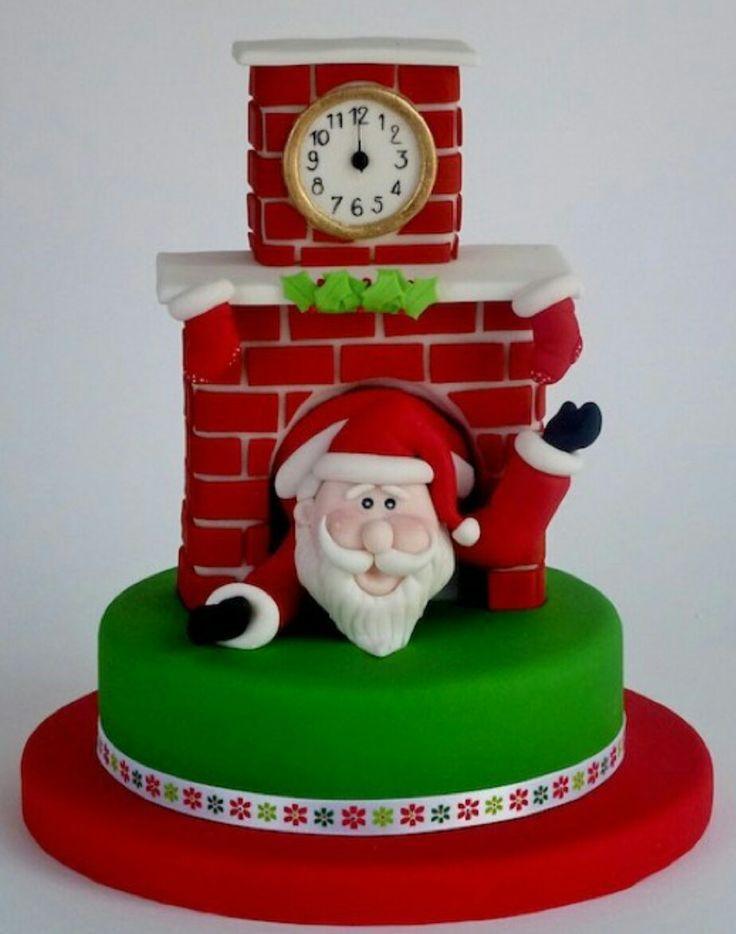 Pastel Santa Claus