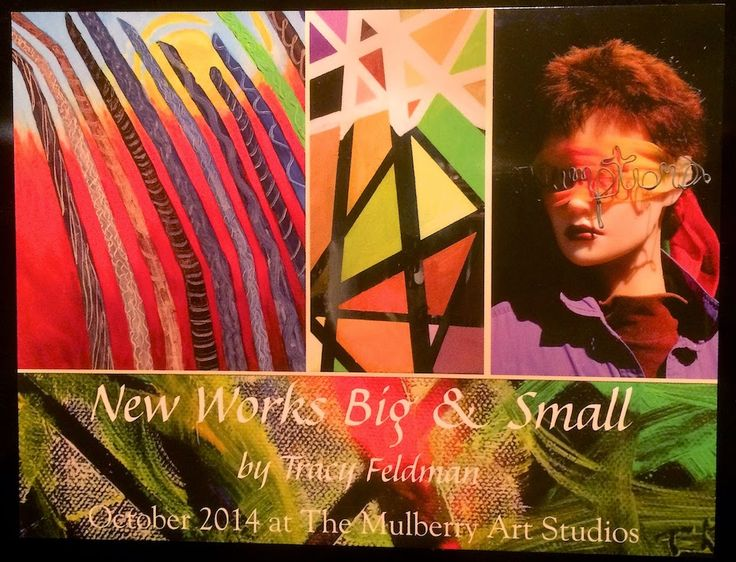 tracyfeldmanartblog: The Show Cards Have Arrived!  Want One?