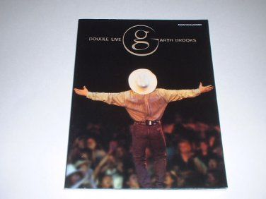 Garth Brooks Double Live Concert Songbook/Sheet Music Piano/Vocal/Chords