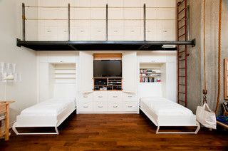 Large Custom Wall Unit - modern - living room - vancouver - by Radius Architectural Millwork Ltd.