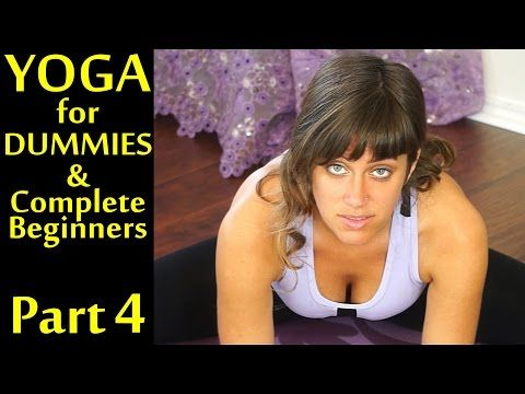 Yoga For Dummies & Complete Beginners Part 4 Relaxation, Stress and Pain Relief - YouTube