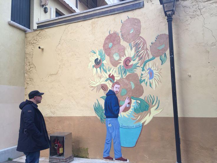 Murale a Pordenone, 2015