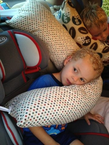 carseat pillows...they LOVE them!