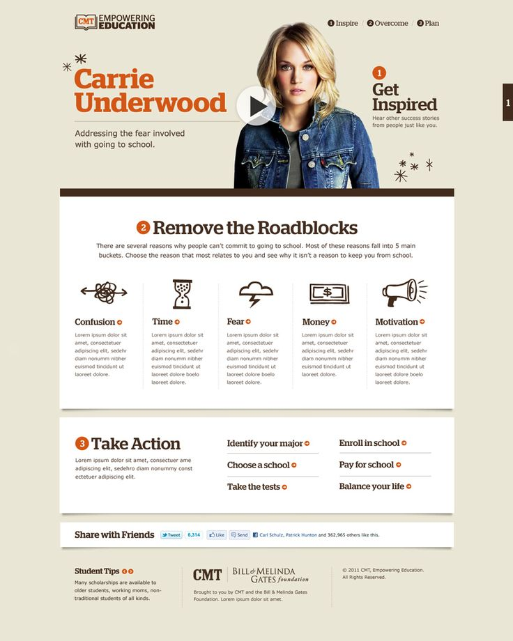 CMT Empowering Education site by Blake Allen