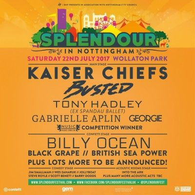 Buy tickets and see event information for Splendour 2017.