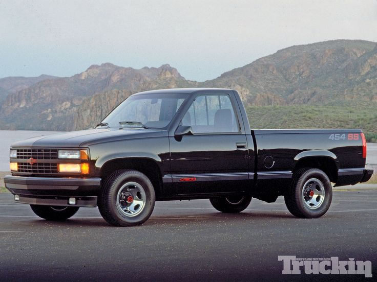 94 Chevy Silverado C1500 SS with the BIG BLOCK 454 V8 talk about a gas drinker