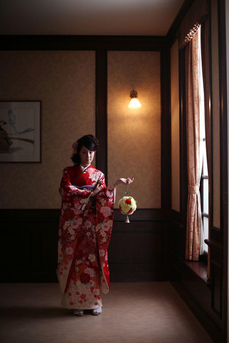 成人式前撮り*スタジオ撮影/ANAクラウンプラザホテル神戸写真室