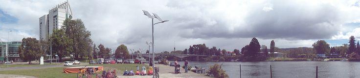 La ciudad junto al río.  Valdivia, Chile