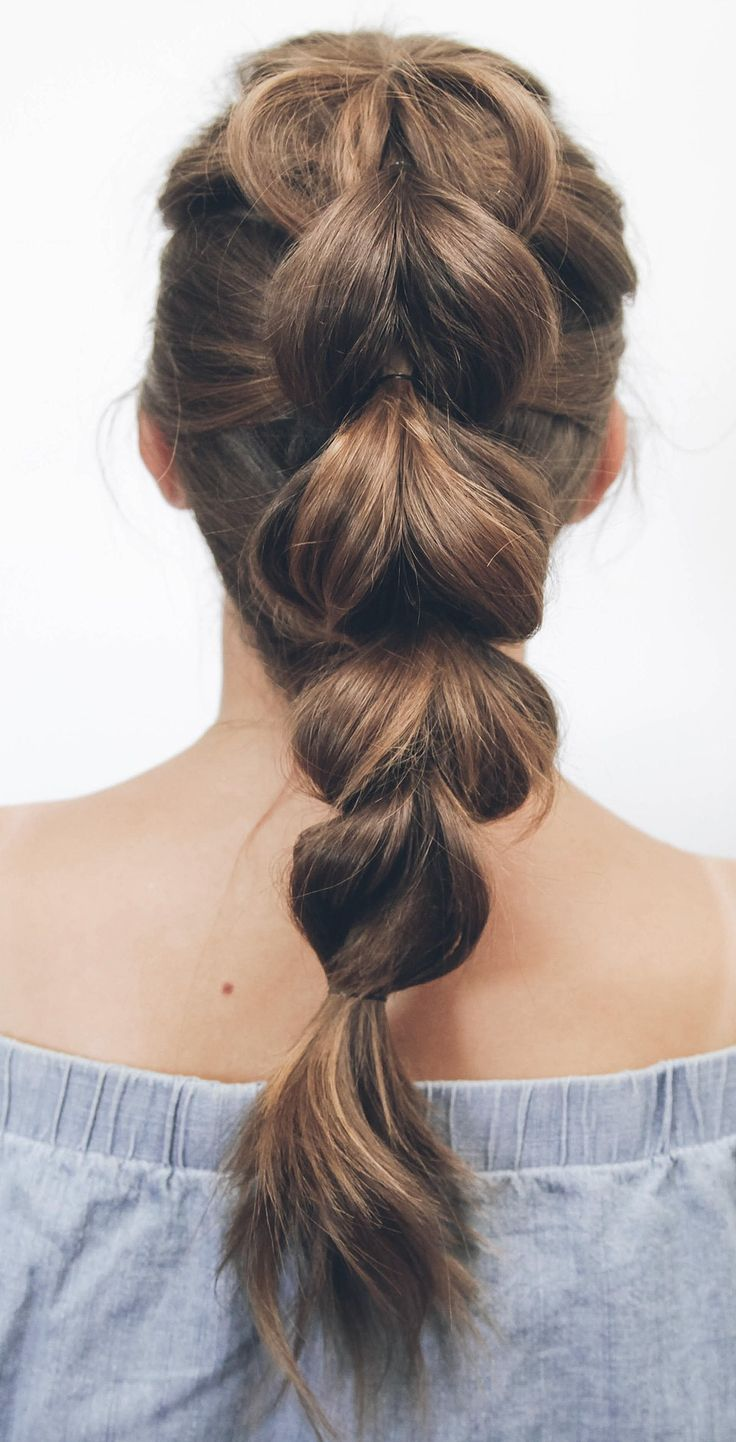 thick hair updo ideas