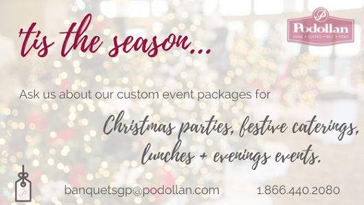 The Podollan Inn + Spa Grande Prairie offers a variety of spaces with custom catering packages available upon request!