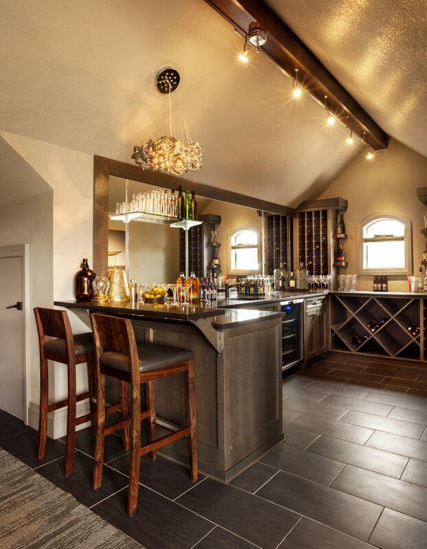 Multi-Generational Trillium Home by Garrison Hullinger Interior Design.  Home Bar AreasMaster ...