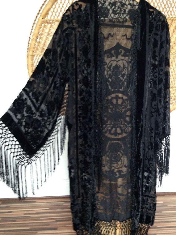 Hey, I found this really awesome Etsy listing at https://www.etsy.com/se-en/listing/386891726/kimono-jacketdevore-kimonoburnout