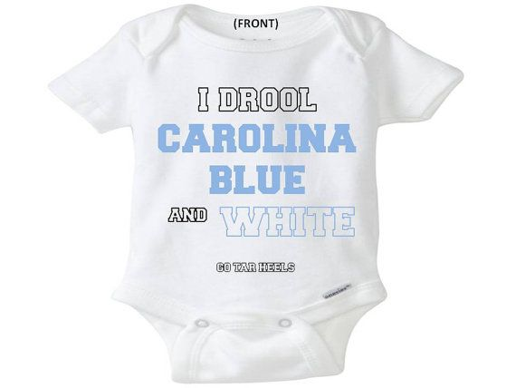 North Carolina Tar Heels onesie toddler shirt creeper ...