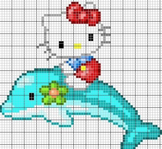 hello kitty cross stitch. for kay