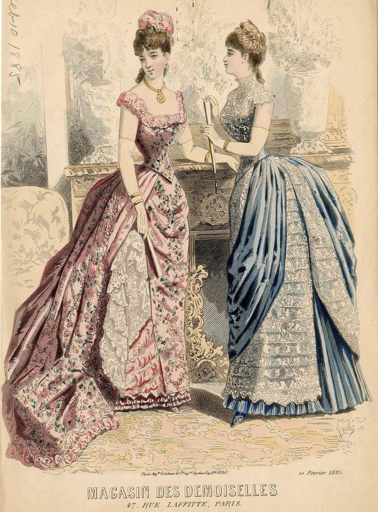 Magasin des Demoiselles 1885