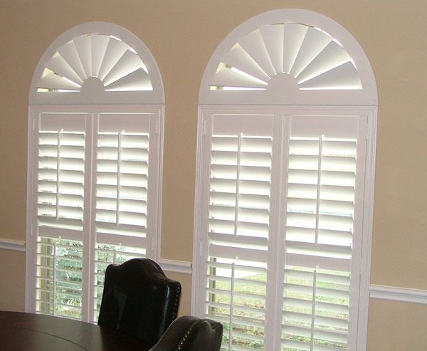 Image detail for -... Arched Windows, Wood Arch Shutters, Blackout Window Shutter Treatments