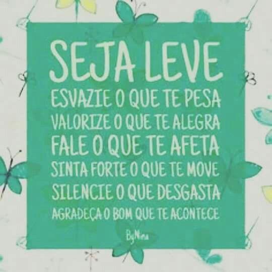 Seja Leve!