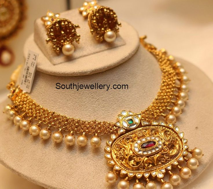 51 best Jewellery images on Pinterest | South indian jewellery ...