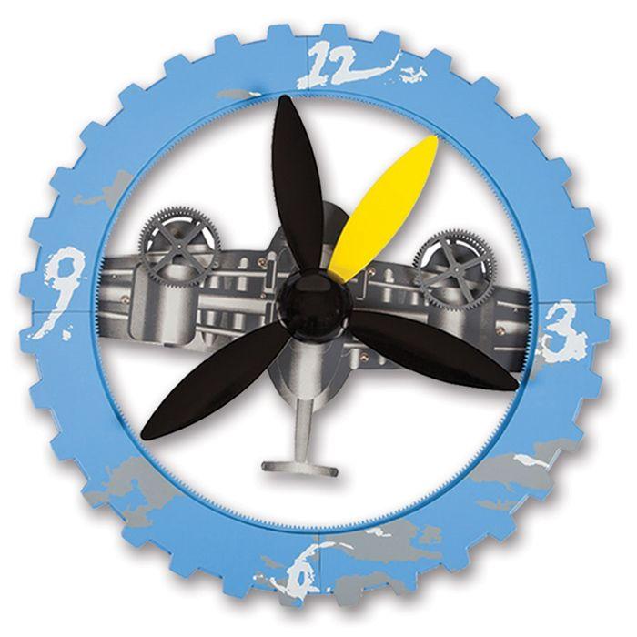 Özel Pervaneli Duvar Saati Modeli  Ürün Bilgisi ;  Plastik ve metal parçalardan tasarlanmıştır. Ebatı : 45 cm Sessiz çalışır Özel bir duvar saatidir.