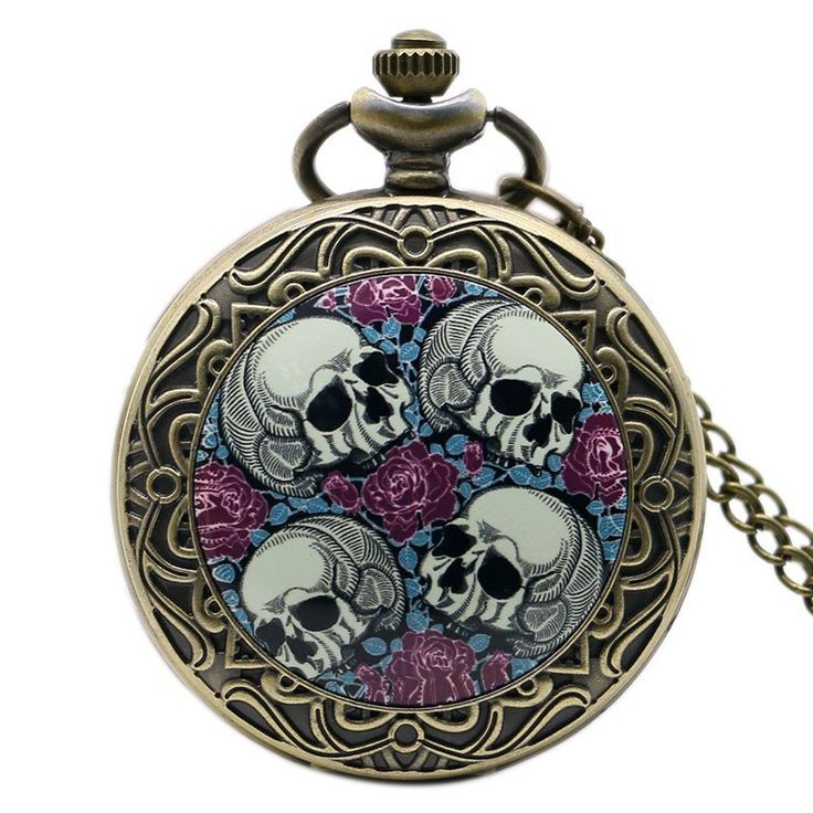 Tomb of Horrors Pocket Watch